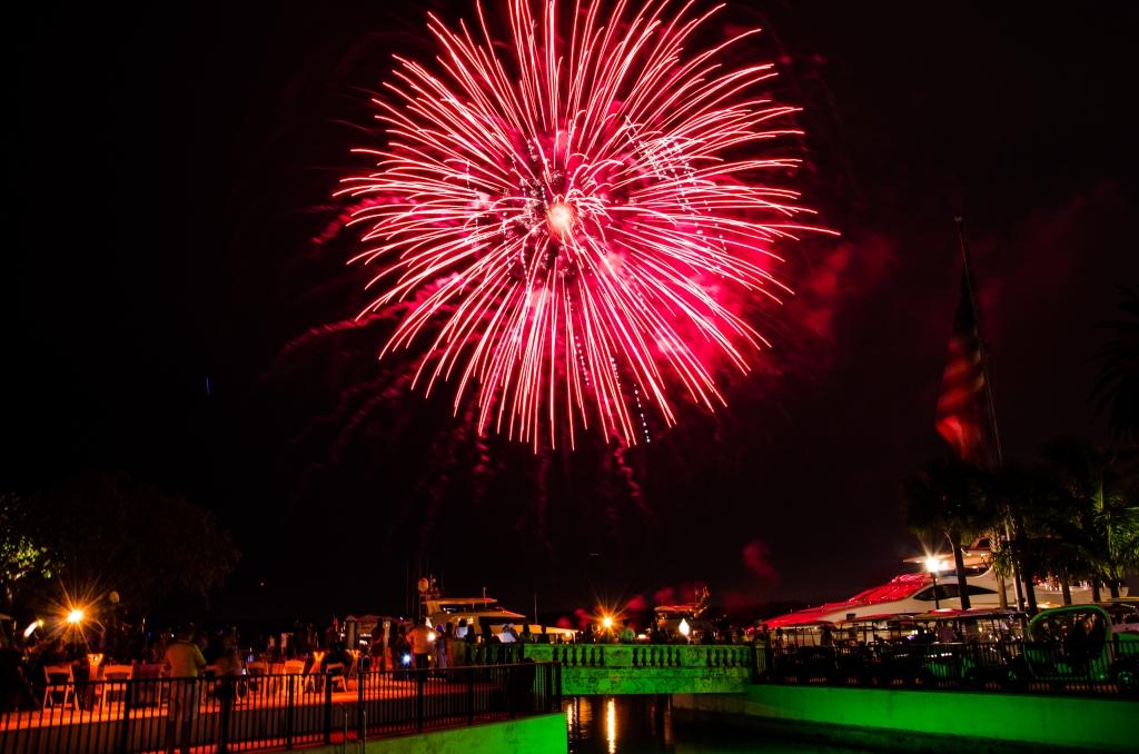 Fisher Island Fireworks, Fisher Island Fourth of July, Miami Fireworks