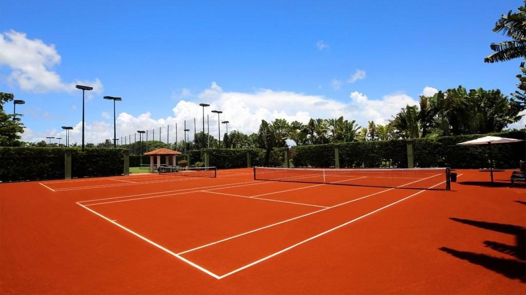 Fisher Island Club Miami tennis in Travel Weekly - Bernard Lackner
